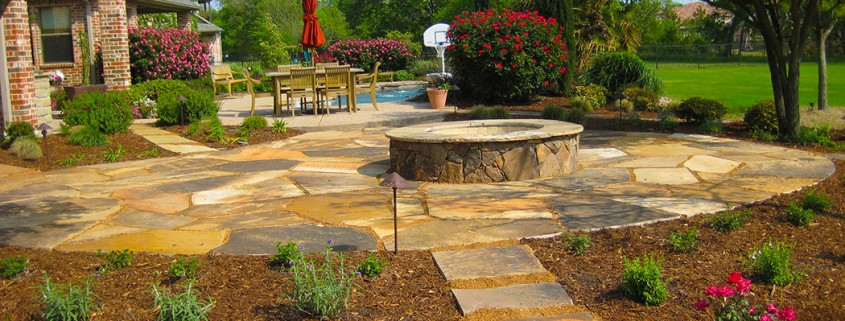 Fire Pit Pool Landscaping