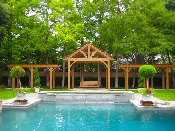 pergola stewart lawncare - Lawncare