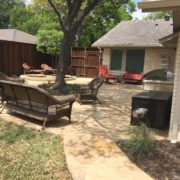 Oklahoma Flagstone Patio & Outdoor Kitchen