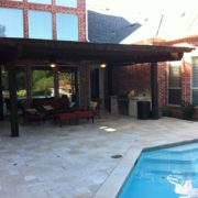 poolside pergola & patio