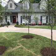 Front Yard Makeover with Mini Patio